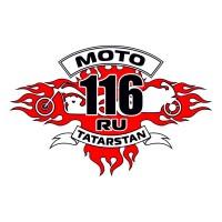 Наклейка Мото-116, 25х16 см.
