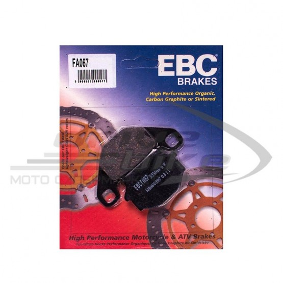 CL Brakes 2302 A3 - накладки тормозные