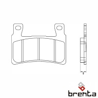 BRENTA FT3112 - накладки тормозные