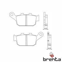 BRENTA FT3073 - накладки тормозные