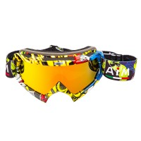 AIM (PRO) - очки кроссовые Multicolor Glossy