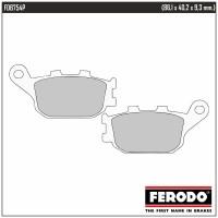 FERODO FDB754P - накладки тормозные