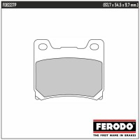 FERODO FDB337P - накладки тормозные