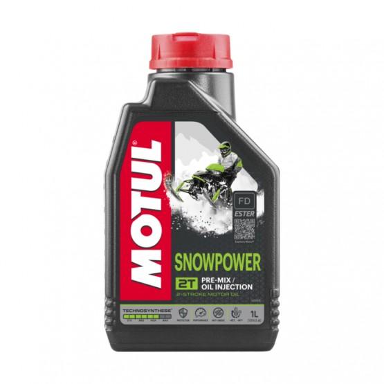 MOTUL Snowpower TEHNOSYNTH 2T, 1 л.
