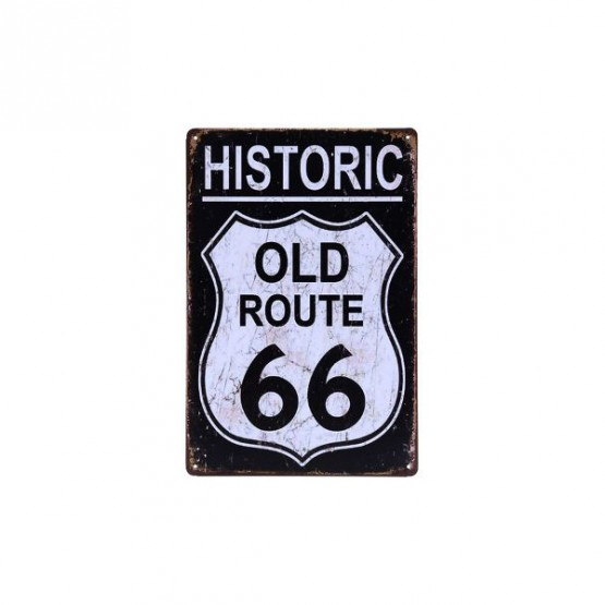 Табличка ROUTE66 OLD ROAD