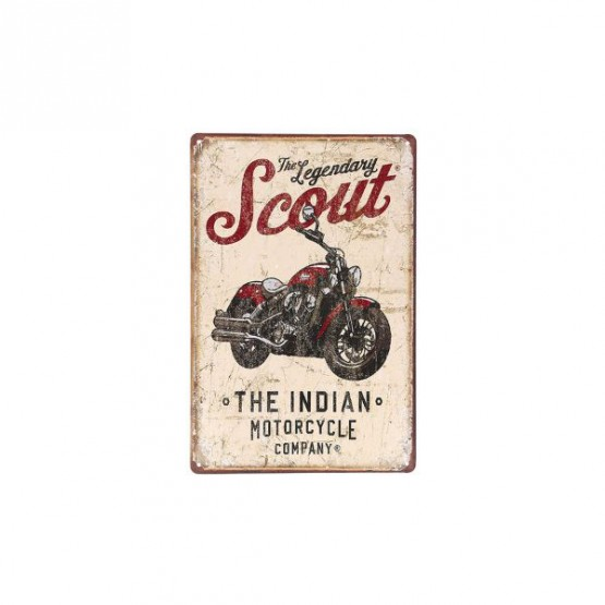 Табличка INDIAN SCOUT
