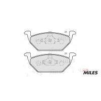 MILES E100054 Колодки тормозные передние