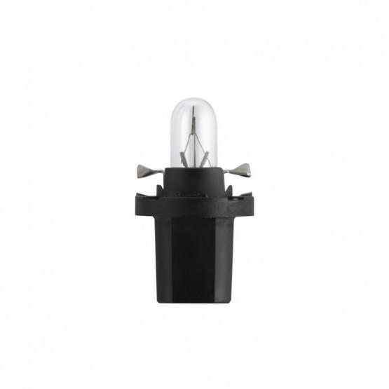 PHILIPS BAX8,5d/2 black Лампа