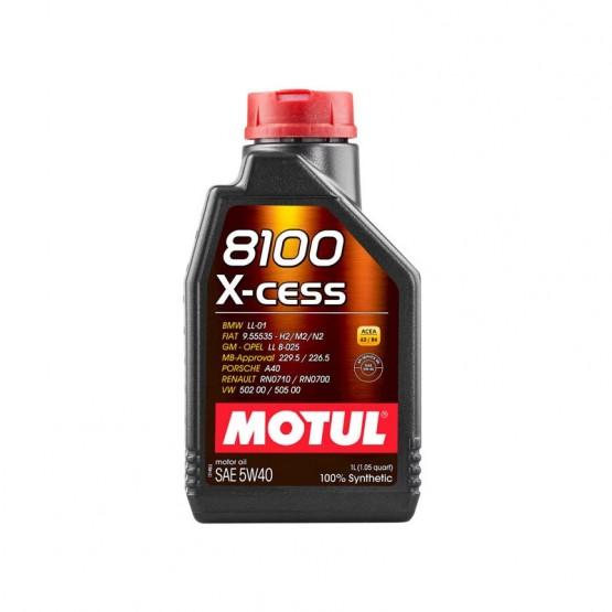 MOTUL 8100 X-cess 5W-40, 1 л.