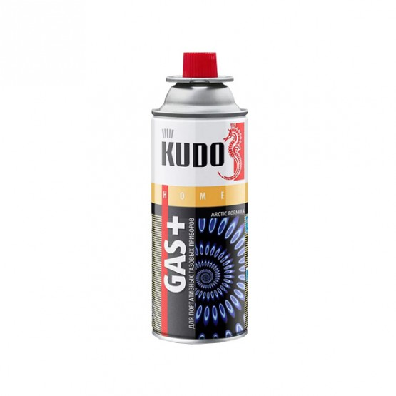 KUDO KUH403 - газ для горелок, 520 мл.
