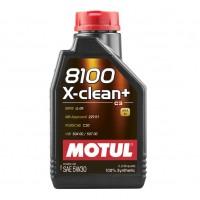 MOTUL 8100 X-clean+ 5W-30, 1 л.