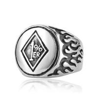 Перстень 1%`er, 12 разм.