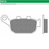 NEWFREN FD0136BT - накладки тормозные