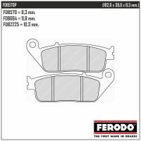 FERODO FDB570P - накладки тормозные