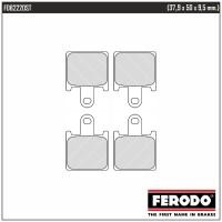 FERODO FDB2220ST - накладки тормозные