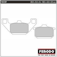 FERODO FDB339P - накладки тормозные