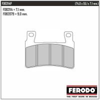 FERODO FDB2114P - накладки тормозные