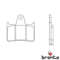 BRENTA FT3137 - накладки тормозные