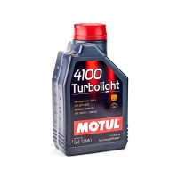 MOTUL 4100 Turbolight 10W-40, 1 л.