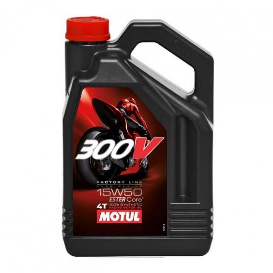 MOTUL 300V 4T Factory Line Road Racing 15W-50, 4 л.
