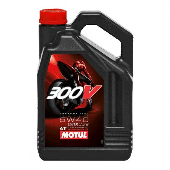 MOTUL 300V 4T Factory Line Road Racing 5W-40, 4 л.