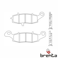 BRENTA FT3091 - накладки тормозные