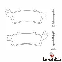 BRENTA FT3023B - накладки тормозные