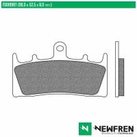 NEWFREN FD0199BT - накладки тормозные