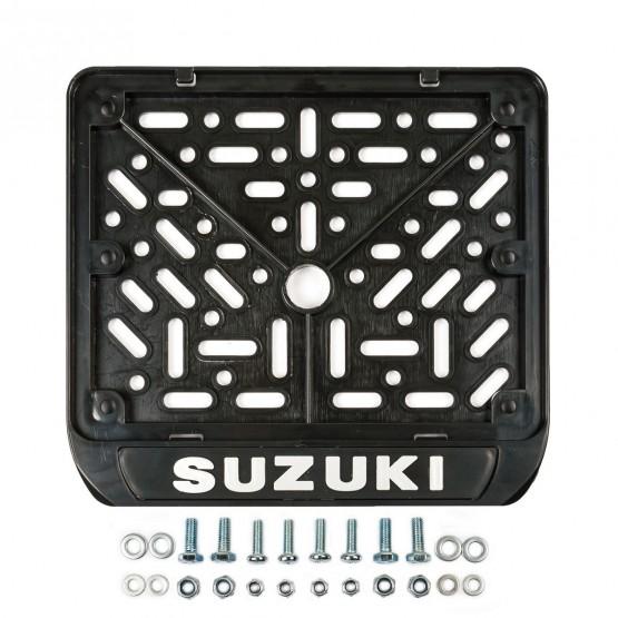 GENERIC - рамка для номера мотоцикла SUZUKI (нового образца)