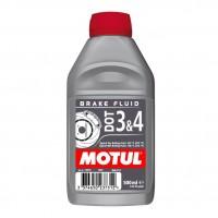 MOTUL DOT 3&4 Brake Fluid (тормозная жидкость), 0,5 л.