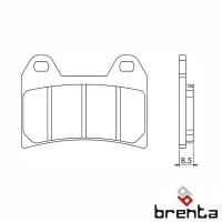 BRENTA FT3093 - накладки тормозные