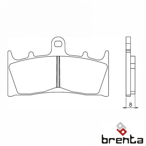 BRENTA FT3060 - накладки тормозные