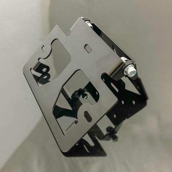 CRAZY IRON 5566 - рамка для номера мотоцикла нового образца, регулируемая