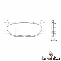 BRENTA FT3057 - накладки тормозные