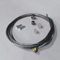 GENERIC NP002 - ремкомплект троса сцепления цилиндрический наконечник