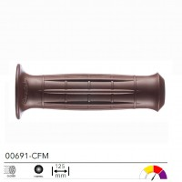 ARIETE 00691-CFM - ручки руля HERITAGE ROAD BROWN, 22 мм.