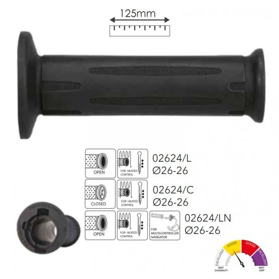 ARIETE 02624/LN - ручки руля для моов BMW с подогревом и контролем (открытые)