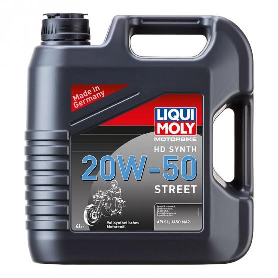 LIQUI MOLY Motorbike HD Synth Street 20W-50, 4 л.