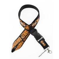 Шнурок для ключей HARLEY-DAVIDSON, текстиль, черн./оранж.