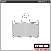 FERODO FDB2111P - накладки тормозные