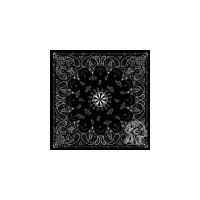 ZAN B001 - бандана Black Paisley