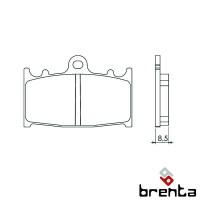BRENTA FT3062 - накладки тормозные